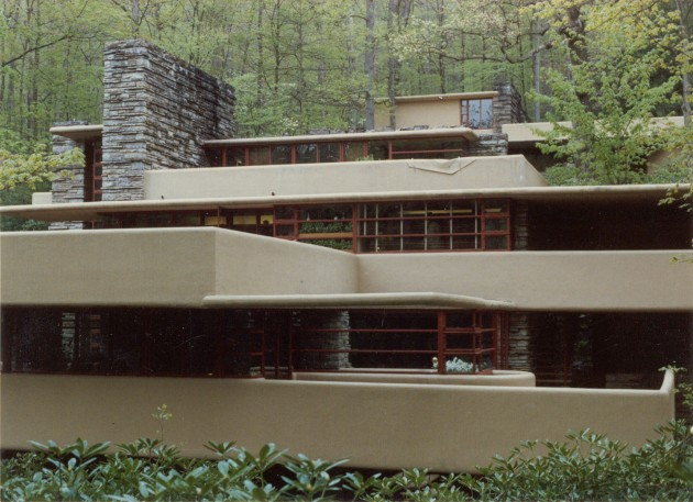 Falling Water home by Frank Lloyd Wright. Photo courtesy of Kirk Evans.