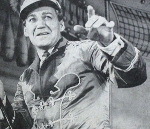 Forrest Tucker in The Music Man