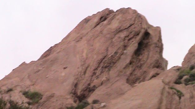One of Vasquez's Rocks