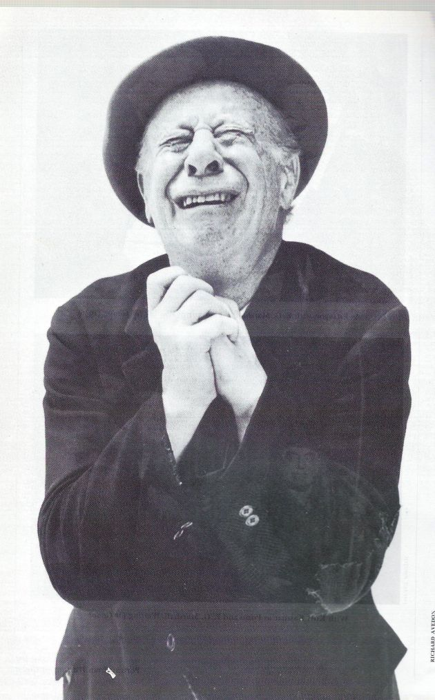 Bert Lahr As Estragon In Samuel Beckett's Waiting For Godot.