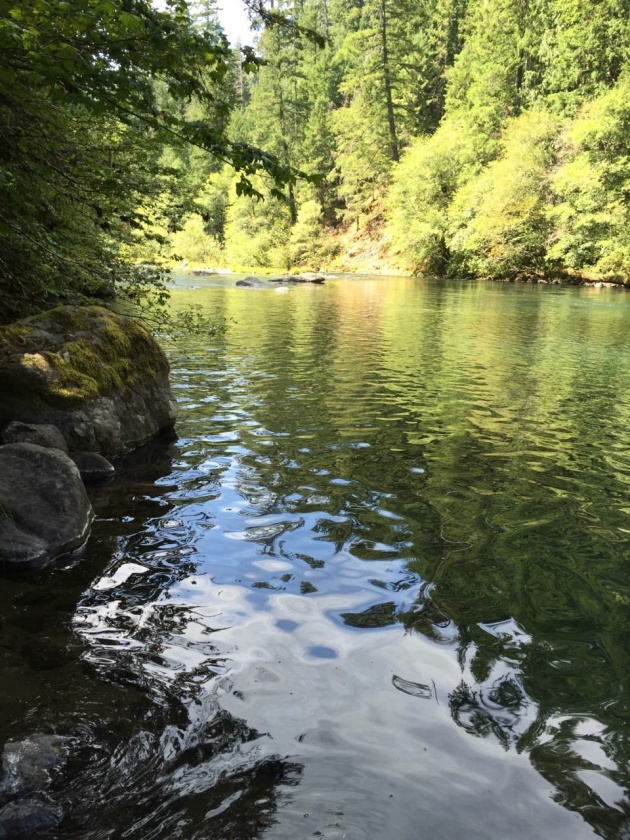 The beauty and tranquility of the North Umpqua