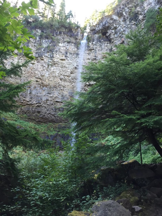 Another view of Watson Falls